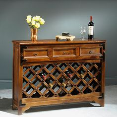 Wine Console Table at Wine Enthusiast - $595.00