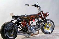 Honda dax st70 chopper