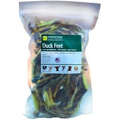 Springtime Duck Feet Treat for Dogs - 1 lb. (approx. 30/bag) - All Natural, Single Ingredient, Made & Sourced in the USA @@ You could get more details by clicking on the image. (This is an affiliate link and I receive a commission for the sales)
