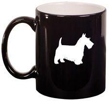 11oz Ceramic Coffee Tea Mug Glass Cup Scottie Scottish Terrier