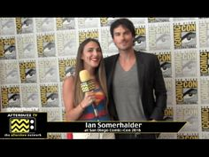Ian Somerhalder (The Vampire Diaries) at San Diego Comic-Con 2016.