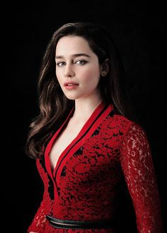 """stormborns:   """"There's one scene where I'm firing a grenade launcher into a fireball and then running… that was frighteningly real to film. That was one of those ones where I'm like, 'I'm insured right? Okay, good.'"""" – EMILIA CLARKE for The Daily News (x)"""