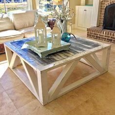 When a person decides to create something at home with the wooden pallets, it is sure that he/she will end up in getting something great. If anyone is new to reusing the pallets, then he/she can copy this idea of creating a reclaimed wood pallet table because it is simple.
