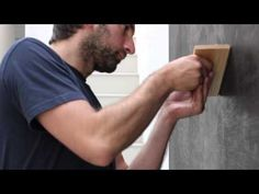 ▶ In the Studio: Idris Khan - YouTube Wow this is incredible!! He paints with stamped words about art