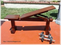 If you'd like to have a brand-new weight bench, but you don't want to spend a lot of money, then you might consider making one yourself. I decided to make a multi-position flat/incline bench using a 4x4 post as a base. This bench doubles as a patio seat so i don't have to hide/put it away after each workout. Bear in mind that the dimensions of this bench will not be suitable for everybody; it will depend on the height of the person using the weight bench. The bench is about 3.75 feet long…