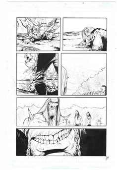 Original interior comic art: HELHEIM #2 Page 7 By Joelle Jones!  http://www.ebay.com/itm/Original-interior-comic-art-HELHEIM-2-Page-7-Joelle-Jones-/291280662828?roken=cUgayN&soutkn=E9YyVd