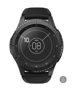 arou - Watch face for Samsung Gear S3 / S2. Watchface by Brunen
