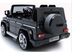 Large Kids Ride On 2 Seater Vehicle Car Luxury Mercedes Benz AMG 12V Battery  #MercedesBenzG55