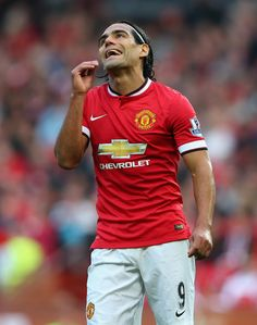 Radamel Falcao - Manchester United v Queens Park Rangers, 14th September 2014 #MUFC #QPR #EPL