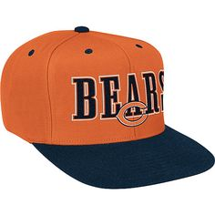 Reebok Chicago Bears Snap Back Hat - NFLShop.com Nike Gear 90079a7ce