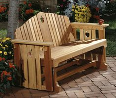 woodworking plans & projects - porch glider project plan i want