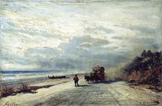 Дорога в Савону. 1880 - Боголюбов Алексей Петрович