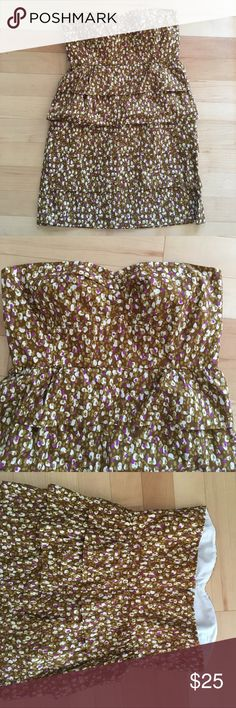 J. Crew Strapless Dress Excellent condition!!!!!!!!! Might mistake it for brand new. J. Crew Dresses Strapless