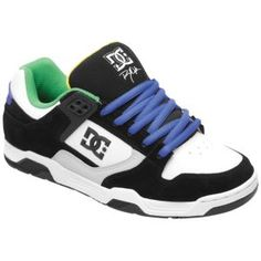 DC Shoes Flawless - Men's - Skate - Shoes - White/White/Black