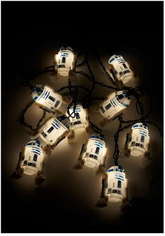 R2D2 Christmas lights!