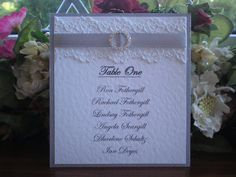 Image from http://vintagelaceweddingcards.co.uk/images/Mikes%20Table%20Plan%20Cards.JPG.