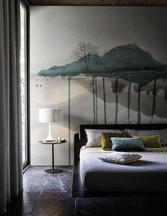Cloud brush www.wallanddeco.com #wallpaper, #wallcovering, #cartedaparati