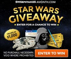Sweepin N  More: Star Wars Bundle Giveaway