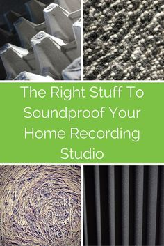 What is the best material to use if you want to soundproof your home recording studio? In this article we explode a few myths, and examine which materials might work best so you don't annoy the neighbours. Record Guitar on a PC computer, Laptop, iPad or Mac #recordingtips #guitar #homestudio