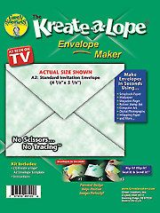 Card & Paper Craft Tools - Kreate-a-lope.  This is really fun. Be sure to watch the video.
