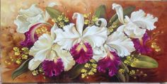 Flores Silk Art, Watercolor Drawing, Arte Floral, Chinese Painting, Counted Cross Stitch Patterns, Pictures To Paint, Flower Art, Flower Arrangements, Beautiful Flowers