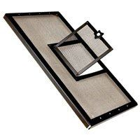 $12.38-$0.00 Hinged Door screen covers allow for easy feeding access to your reptile terrarium. Door opens easily and secures tightly to keep your reptiles in and unwanted outsiders out. Metal screen holds up to scratching and climbing from even the largest reptile pets, while the durable construction maintains shape even under the intense temperatures created by reptile heating and lighting syst ...