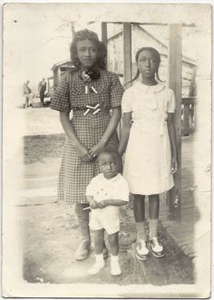 Antique African American Family Lovely Old Photo Black Americana • $21.00