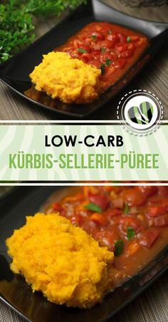 Das Kürbis-Sellerie-Püree ist low-carb, vegan und glutenfrei.