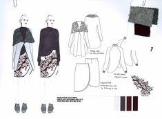 Fashion Portfolio - fashion drawings; fashion design development; fashion sketchbook // Shima Khanom