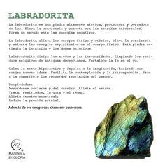 Aprendemos sobre la labradorita. Copyright: maribolabygloria.com