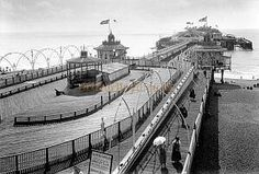 Brighton's West Pier as it used to be ... it is a sad, marooned skeleton now - Courtesy the Brighton West Pier Trust