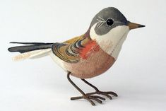 Emily Sutton songbird sculptures - site has photos of many other birds, selling for ~$500/ea