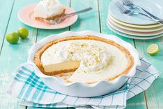 Cut into a slice of heaven with our Honey Bunny Key Lime Pie recipe, featuring Annie's Honey Bunny Grahams. Bernie approved!