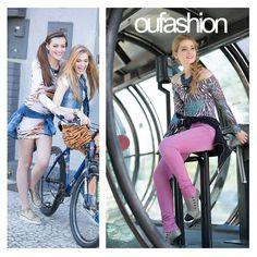 Jaqueta amarrada na cintura é truque de estilo e a gente ama! #oufashion #trend #teen #inverno2015
