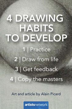 Artistic Confidence and Repeatable Success   How to Draw - Artist's Network #drawing #art