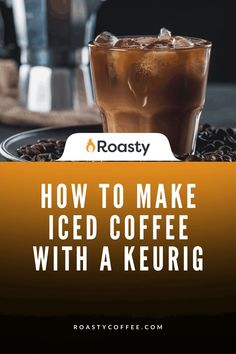 If you're trying to avoid paying money for an iced coffee when you already have a Keurig at home, you've come to the right place! It's 100% possible and surprisingly easy to do! Use our how-to guide to find out tips and tricks we've put together so you can get the most out of your home-brewed iced coffee. #coffeelovers #icedcoffee #roastycoffee #keurigcoffee Thai Iced Coffee, Vietnamese Iced Coffee, Making Cold Brew Coffee, How To Make Ice Coffee, What Is A Frappe, Coffee Course, Coffee Accessories, Coffee Benefits, Coffee Ideas