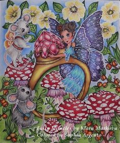 Adult Coloring, Coloring Books, Coloring Pages, Fairy Sketch, Mark 4, Colored Pencils, Enchanted, Fairies, Playing Cards
