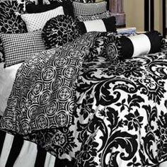 Symphony Bedding @ The Home Decorating Compay. Great site - can shop bedding by designer, style, pattern, color, age, size or type!