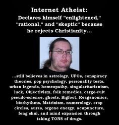 Reality: You're not atheist. You're just anti-Christian.