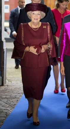 """Princess Beatrix of the Netherlands attended the Price """"Max van der Stoel"""""""
