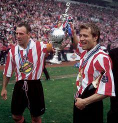 Bally and Micky Sunderland Football, Sunderland Afc, Fa Cup Final, Soccer, Collection, Sport, Futbol, European Football, European Soccer