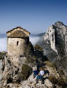 Ermita de la Pertusa Mount Rushmore, Marie, Iglesias, Mountains, Terra, Nature, Travel, Country, Suspension Bridge