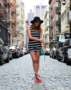 Soho New York, #soytendencia #nyfw15 Soho, Balenciaga, Nyc, Panama Hat, New York, Outfits, Dresses, Fashion, Trends