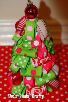 First off, I just want to thank EVERYONE who stopped by my Holiday Ribbon Wreath post! I had no idea it would be so popular! And another thanks to everyone who posted the pictures and linked back to me. It means so much to me, especially being a new crafty blogger!Ok, so a bunch of people seemed...