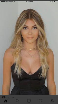 Olivia jade-blonde balayage