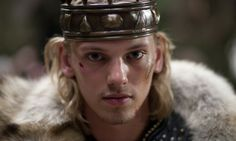 Jamie Campbell Bower as King Arthur in Camelot