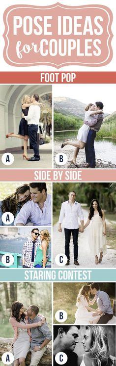 Gorgeous Pose Ideas for Couples