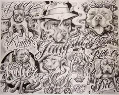 Image result for Boog Tattoo Flash Stencils
