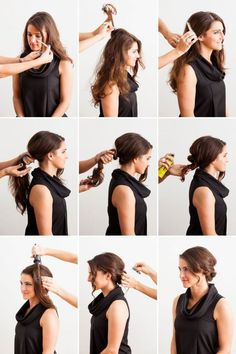 Hair Styles Ideas : Illustration Description How are you wearing your hair this Thanksgiving? Do you have a fun family dinner planned? Or perhaps you wish to to welcome the holiday season with celebrations and friends. -Read More – - #Hairstyle