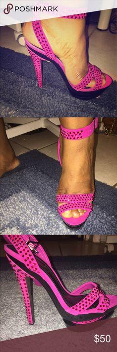Jessica Simpson heels Never worn Jessica Simpson heels Jessica Simpson Shoes Heels
